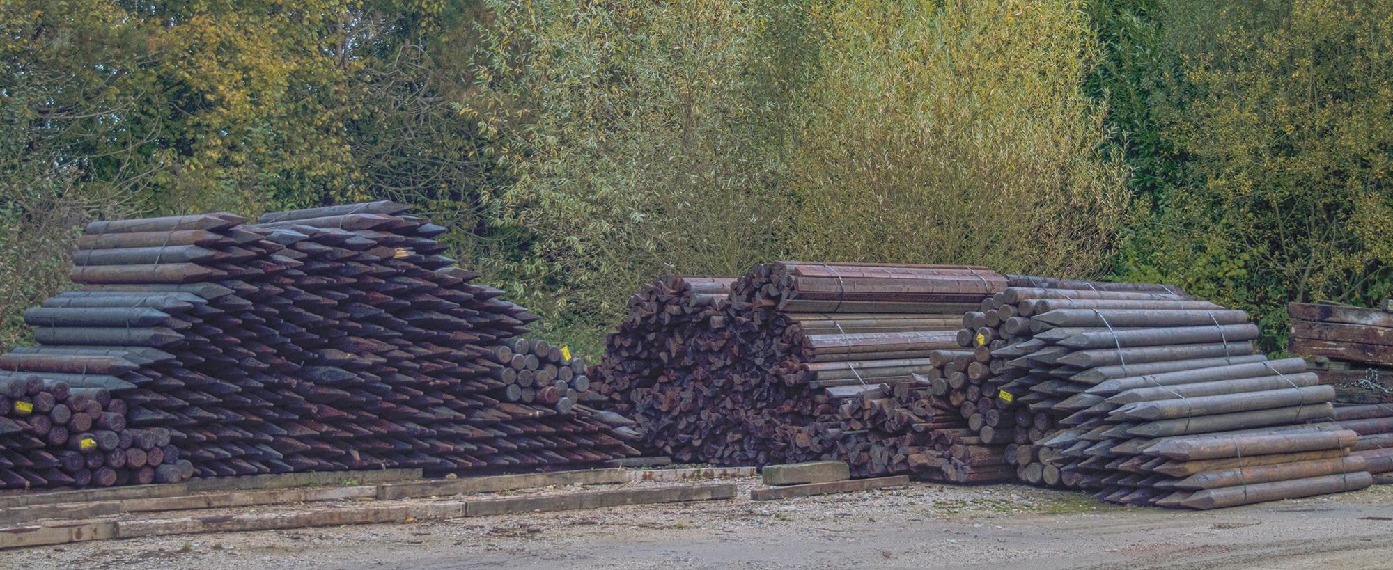 poteaux bois traitement créosote