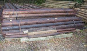 poteaux en bois 3ml 16Ø